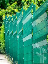 groene afsluitingsdraad