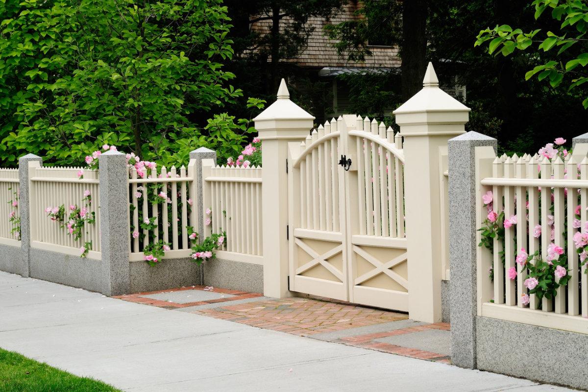 Hekwerk Hout Tuin : Hekwerk tuin populaire hekwerksoorten voor de afsluiting van de