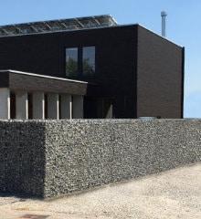 steenkorf model zwart