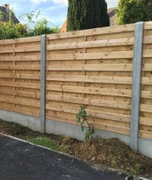 tuinschermen hout beton